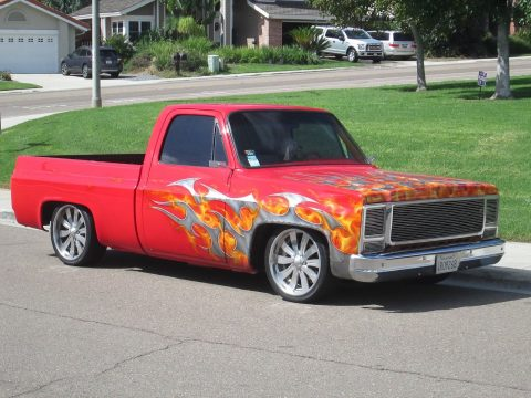 1974 Chevy C-10 show truck for sale