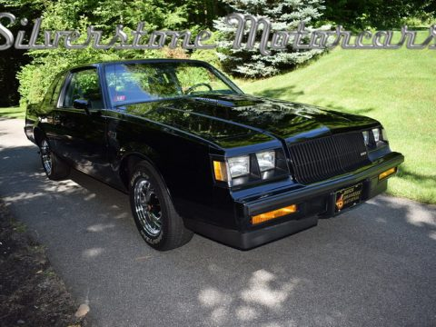 1987 Buick Grand National, Low Miles One Owner Pristine Stunning Collector Car for sale